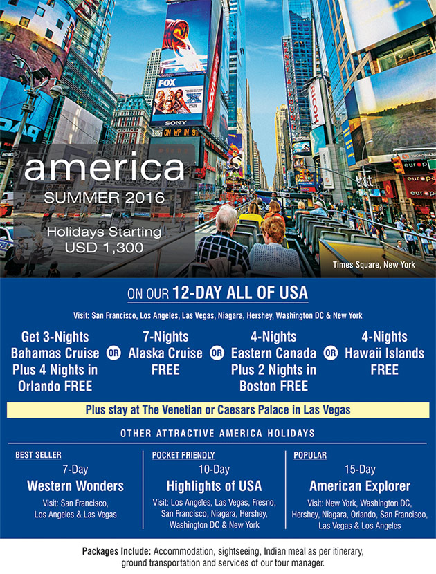 America Summer SOTC - Europe travel package