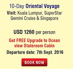 10 Days Oriental Voyage