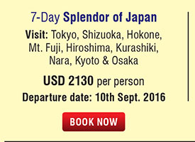 7 Days Splendor of Japan