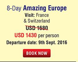 8 Days Amazing Europe