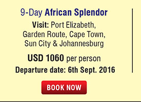 9 Days African Splendor