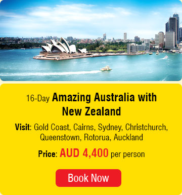 16 Days Amazing Australia with New Zealand