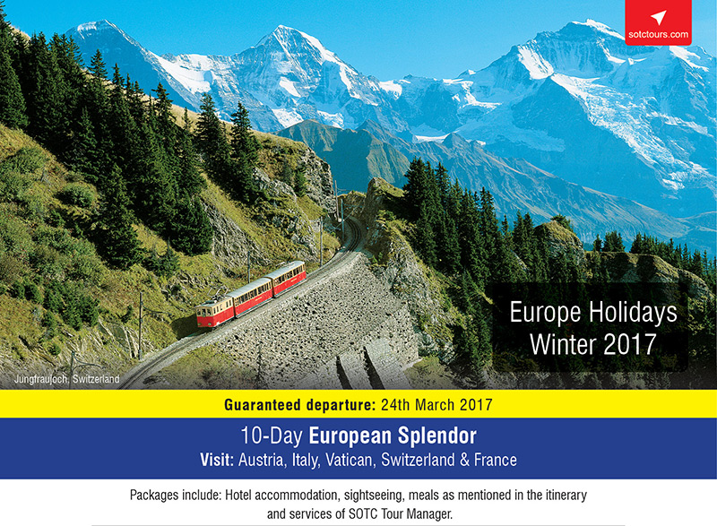 Europe Holidays Winter 2017 Canada