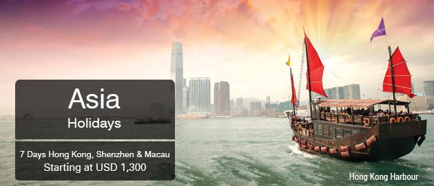 Asia Holidays Hong Kong Shenzhen & Macau