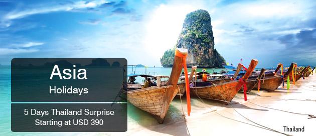 Asia Holidays Thailand Surprise