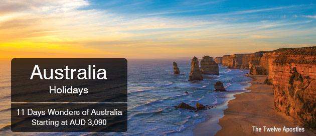 Australia Holidays Amazing Australia