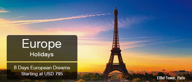 Europe Holidays European Dreams