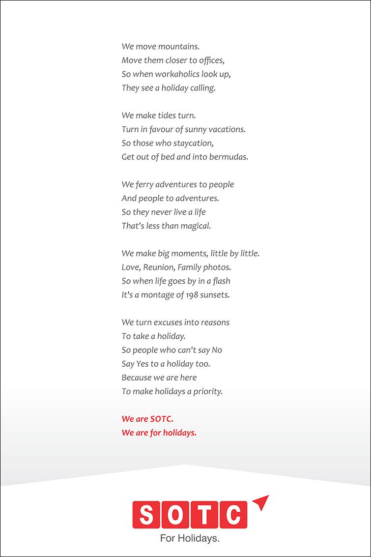 SOTC - Brand Manifesto
