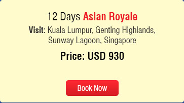 summer value tour asian royale Holidays
