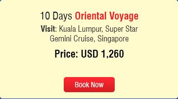 summer oriental voyage 2016
