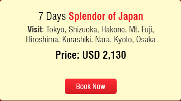 summer value splendor of japan Holidays