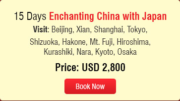 summer value tour enchanting china with japan Holidays