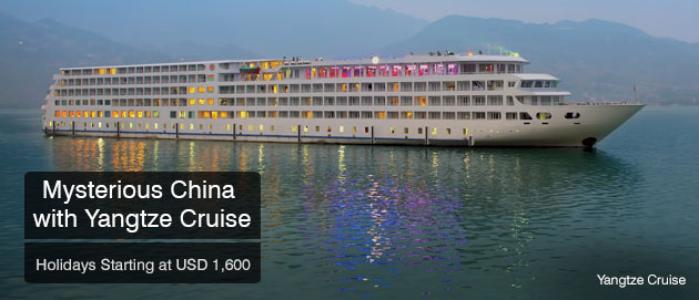 Mysterious China with Yangtze Cruise