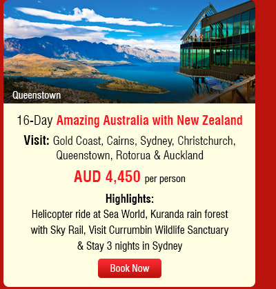 16-Day Amazing Australia with New Zealand
