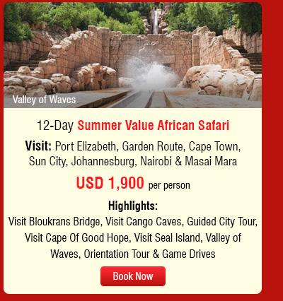 12-Day Summer Value African Safari