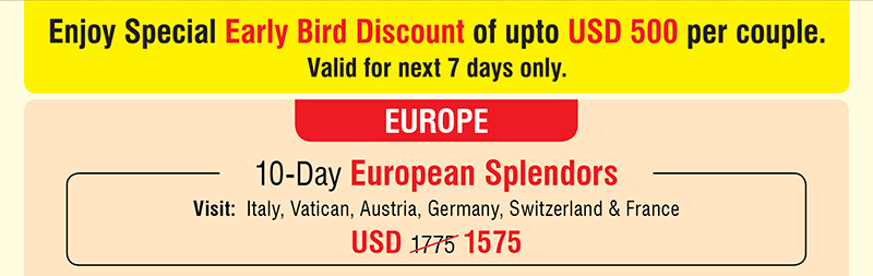 10-Day European Splendors