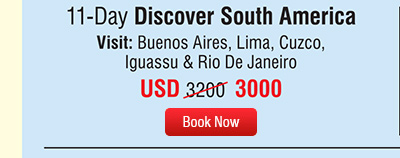 11-Day Discover South America