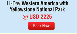11-Day Western America With Yellowstone National Park