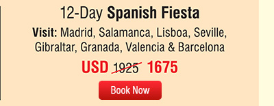 12-Day Spanish Fiesta