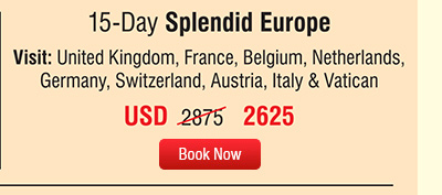 15-Day Splendid Europe
