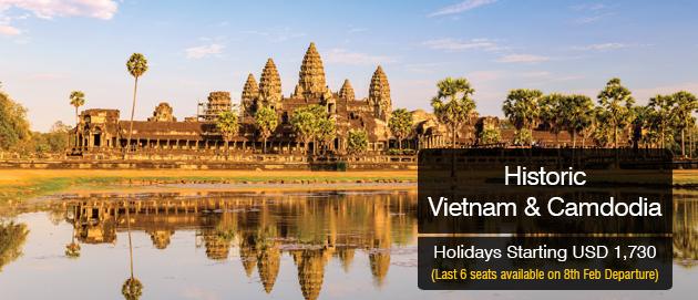 Historic Vietnam & Camdodia